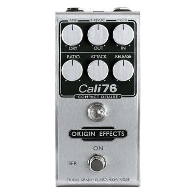Origin Effects Cali76 Compact Deluxe 1176-Style Studio-Grade FET Compressor Cali