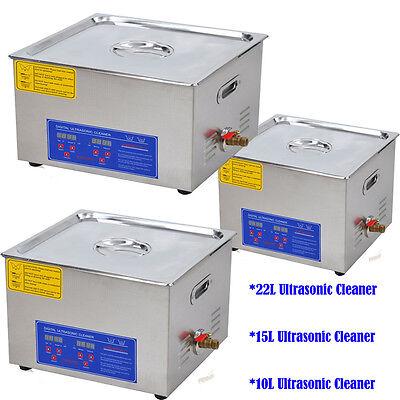 Industrial Grade Professional Ultrasonic Cleaner Heater For Lab Dental Fcc App.