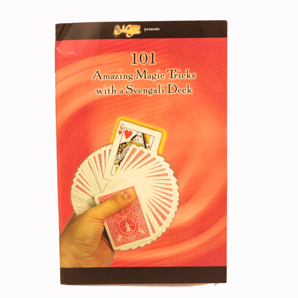 110 Tricks With A Svengali Deck Booklet BRAND NEW BOOK