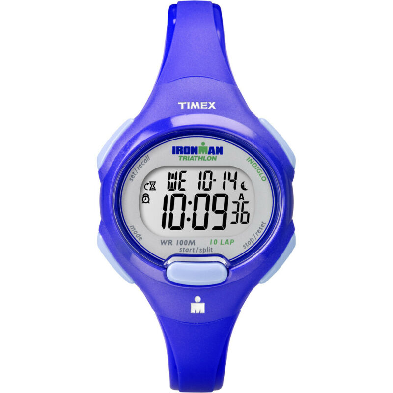 Timex IRONMAN® Traditional 10-Lap Mid-Size Watch - Blue  T5K784