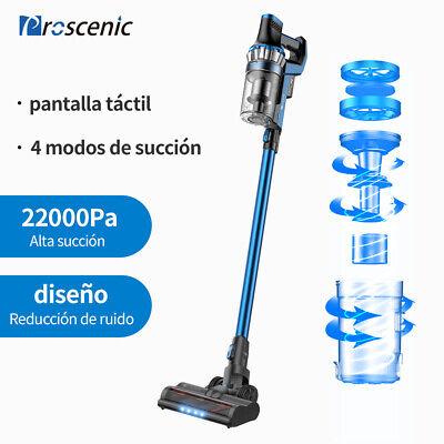 Proscenic P10 Aspiradora sin Cable Escoba eléctrica Pantalla táctil 150AW 260W