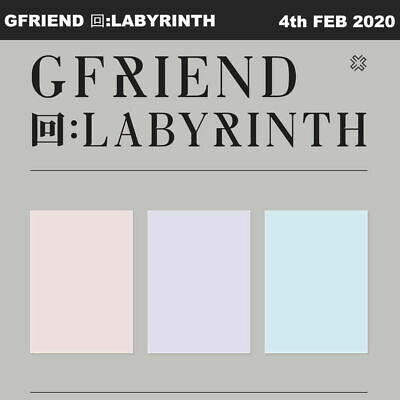 GFRIEND 回:LABYRINTH 3SET CD+Photobook+Card+Etc+Tracking Num