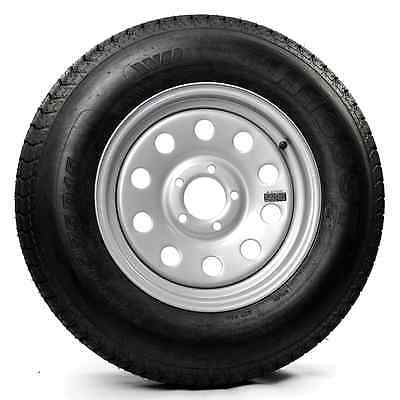 205/75D15 Trailer Tire with 15″ Silver Mod Rim [TTS01]