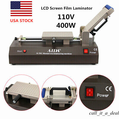 Manual Oca Laminating Machine Built-in Vacuum Pump Laminator For Mobile Phone