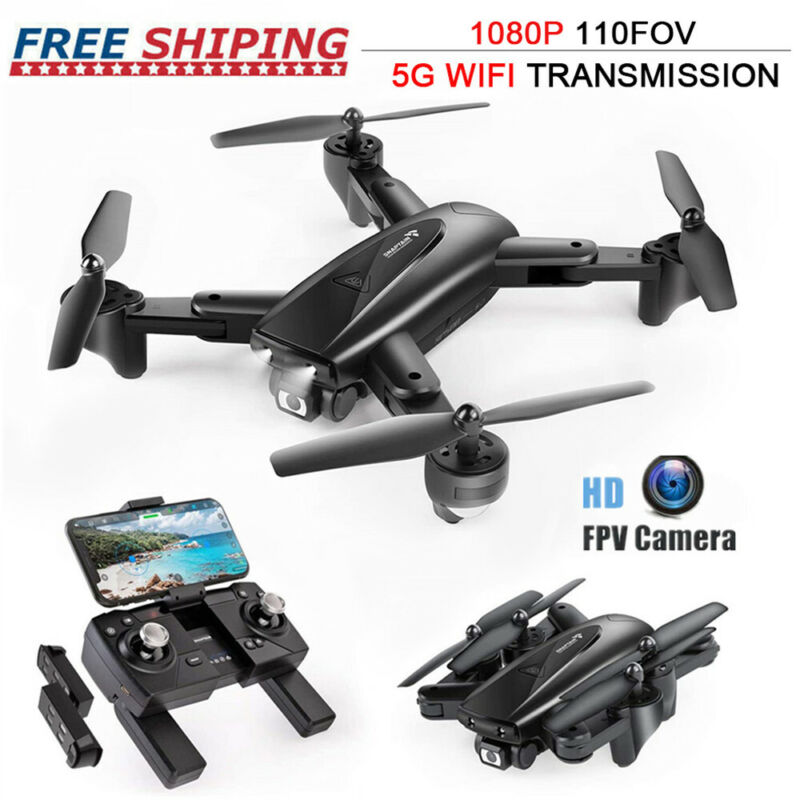 2020 SNAPTAIN HD Camera 5G WiFi FPV Drone Foldable Quadcopter GPS Follow Me Mode