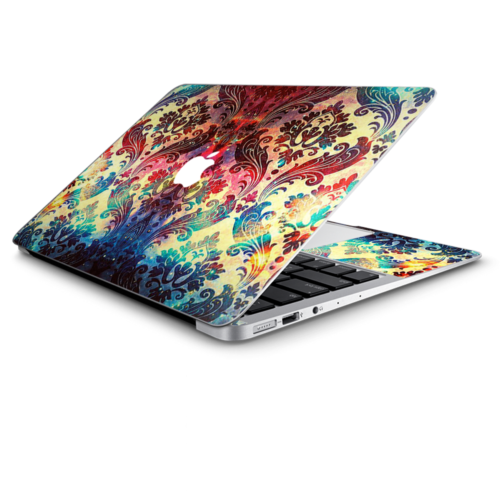 Skin Wrap for Macbook Air 11 Inch, Galaxy Paisley Antique