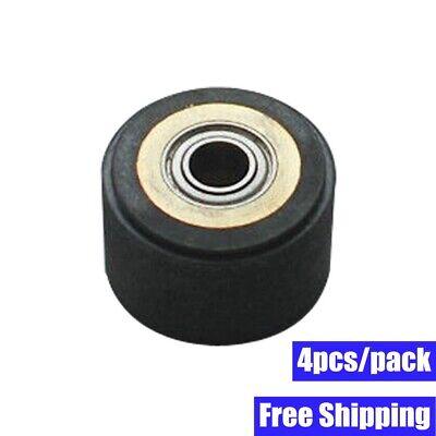4pcs Silica Gel Pinch Roller Wheel For Mimaki Vinyl Cutter 4 X 10 X 14mm