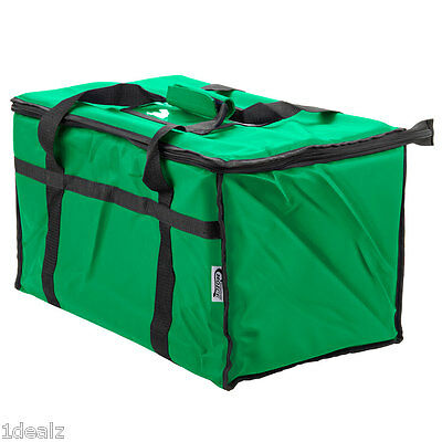 Green Industrial Nylon Insulated Food Delivery Bag Chafer Pan Carrier 10 Rebate