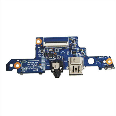 New For HP ENVY X360 m6-aq103dx Laptop USB Port + Audio + Power Button Board -