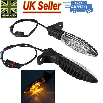 2xMotorcycle Front LED Turn Signal Indicator Light Blinker for BMW R1200GS ADV