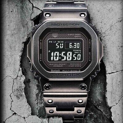 Casio G Shock GMW B5000V-1ER Full Metal Vintage Aged IP Limited Edition Boxed