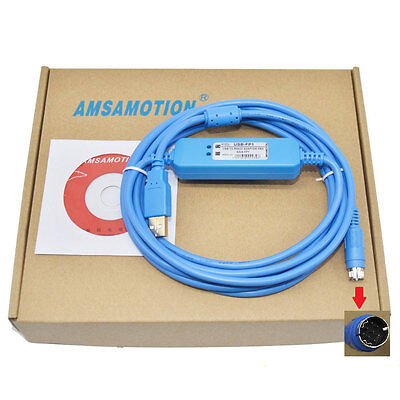 Usb-fp1usb-afp8550 V2.0 Programming Cable For Fp1 Plcsupport Win7