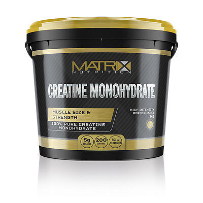 Hardcore Creatin Powder (PURE CREATINE MONOHYDRATE POWDER HARDCORE - FRUIT PUNCH 1KG - MATRIX)