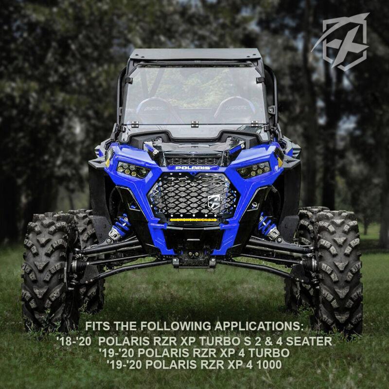 Xprite Black Steel Mesh Grille for 2014-2018 Polaris RZR 900 S /& 1000 XP ATV UTV