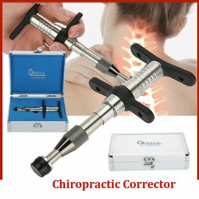 Chiropractic Adjusting Tool Gun Therapy Spine Activator Correction Equipment