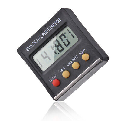 Mini Digital Protractor Gauge Level Angle Finder Inclinometer Magnet Base Bi1306