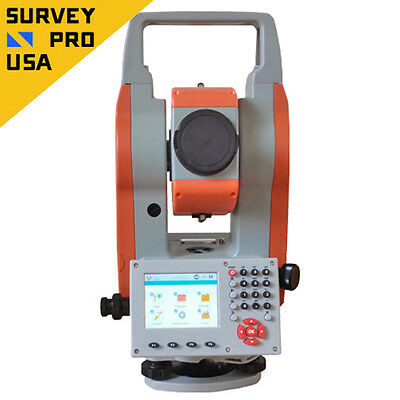 """Windows CE 2"""" Smart Reflectorless Total Station Bluetooth Surveying Construction"""