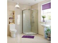 Kiimat Signature 6mm Quadrant Shower Door (900mm) Was £228 Now £165