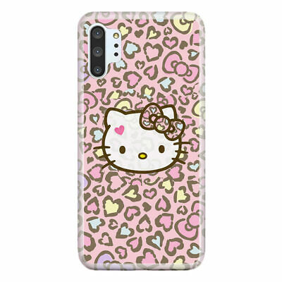 For Galaxy Note 10 / 10+ (Plus) / Pro / 5G Case Cover Hello Kitty Hopi Pink