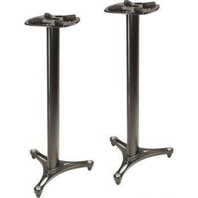 Ultimate Support MS-90/45B MS Pro Column Studio Monitor Speaker Stand 45