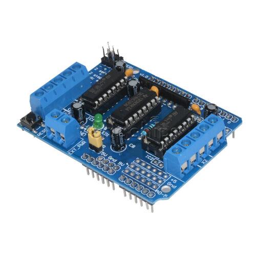 2PCS Motor Drive Shield Expansion Board L293D for Arduino Mega UNO Duemilanove