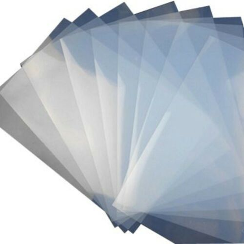"8.5""x11"" 50 Sheets Waterproof Inkjet Milky Transparency Film for Screen Printing"