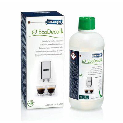 1 x DeLonghi EcoDecalk DLSC500 Descaler 500ml - 5513296041 (Pack of 1)