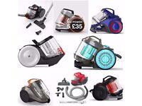 delivery sale vax upright & cylinder vacuums / hoovers ellesmere port