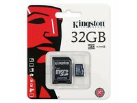 Kingston 32GB SD Card with Adapter