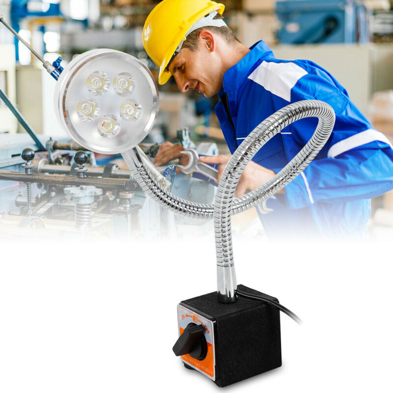 LED Work Light 5W CNC Lathe Milling Sewing Machine Waterproof Dustproof Light US
