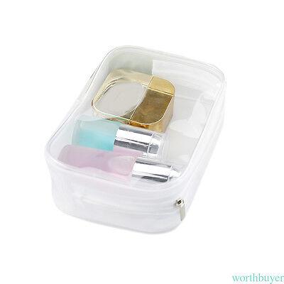 Transparent Waterproof Cosmetic Bag Holiday Travel Toilet Storage Organizer Bag