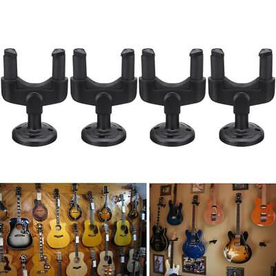 4pcs Guitar Wall Mount Hanger Stand Holder Hooks Display Acoustic Electric Bass