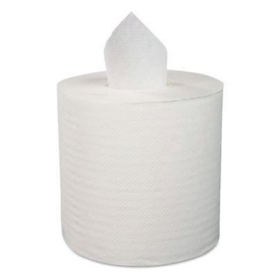 "Boardwalk Center-Pull Roll Towels, 2-Ply, 8.9""W, 600/Roll, 6/Carton - BWK410321"