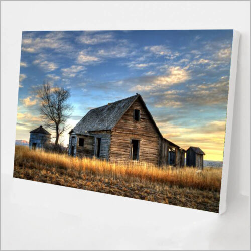 Paint By Number Kit for Adults - Old Barn - DIY Painting By Numbers