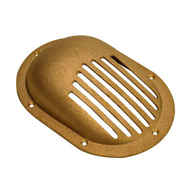 Groco Sc-1000-L Bronze Clam Shell Style Hull Strainer Up To 1