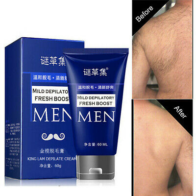 Man's Permanent Body Hair Removal Cream Hand Leg Hair Loss Depilatory Cream (Permanent Body Hair Removal Cream For Men)