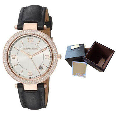 - New Ladies 33mm Analog Quartz Michael Kors MK2462 Mini Parker Wrist Black Watch