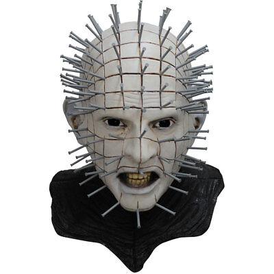 Adult Hellraiser III Pinhead Deluxe Halloween Mask - Pinhead Halloween Mask