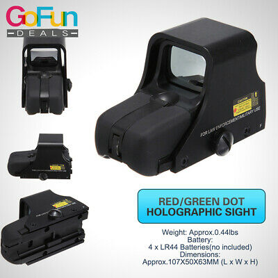 Roter grüner Punkt-holographischer Anblick 551 Tactical Airsoft Scope Sight (Scope Airsoft)