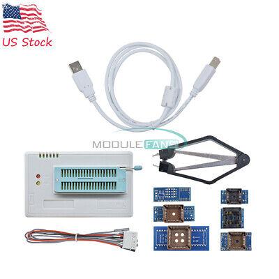 Tl866ii Plus Programmer Flash Adapters Socket Eprom Bios Avr Mcu Pic 7 Adapter