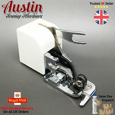 Side Cutter SEW & HEM Overlock Attachment Sewing Foot Overlocking Sewing Machine