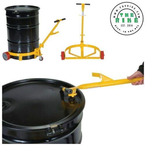 Vestil Poly-on-steel Lo-profile Drum Caddie Capacity 1200 Lbs Lo-dc-pu