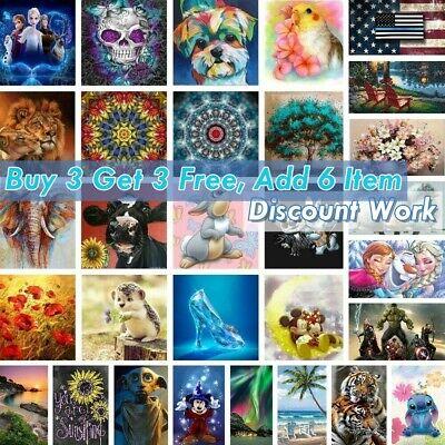 5D Diamond Painting Full Drill Embroidery Cross Stitch Kits Art Decoration Gifts