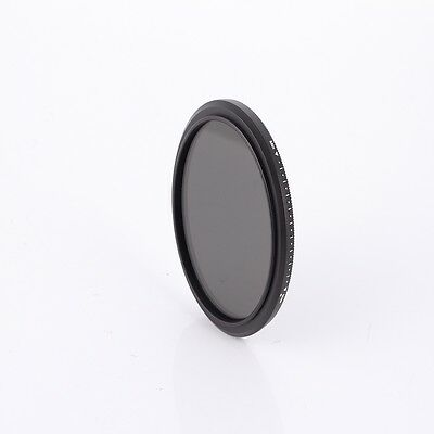 Best 46mm Fader Adjustable Variable Neutral Density ND Filter ND2 to