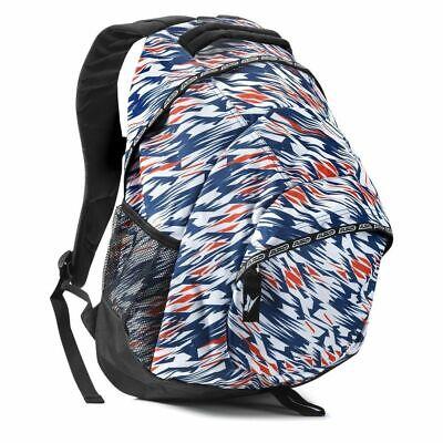 AXO Commuter Backpack White/Blue/Red