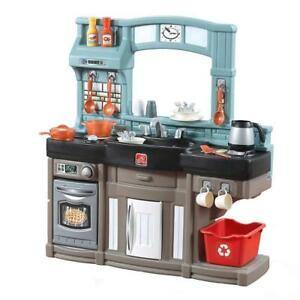 NEW Step2 854800 Best Chef's Kitchen Playset, Blue/Black/Brown Condition: New