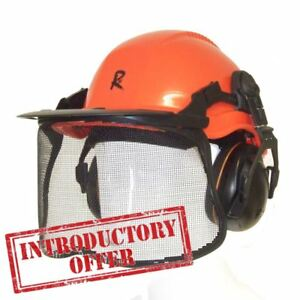 The All NEW ROCWOOD Professional Chainsaw & Forestry Safety Helmet & Full Visor