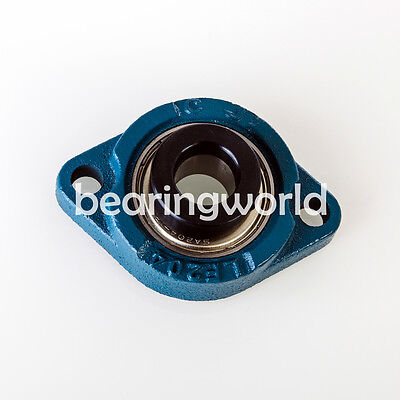 Salf205-16 High Quality 1 Eccentric Locking Bearing With 2 Bolt Flange