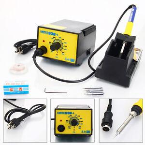 GAOYUE 936 110V SMD Electric Soldering Station Solder Iron Welding Kit W/ 4 Tips