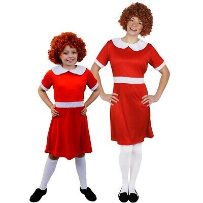 LITTLE ORPHAN GIRL FANCY DRESS COSTUME SCHOOL BOOK WEEK FILM MUSICAL CHARACTER](Female Movie Character Costume)